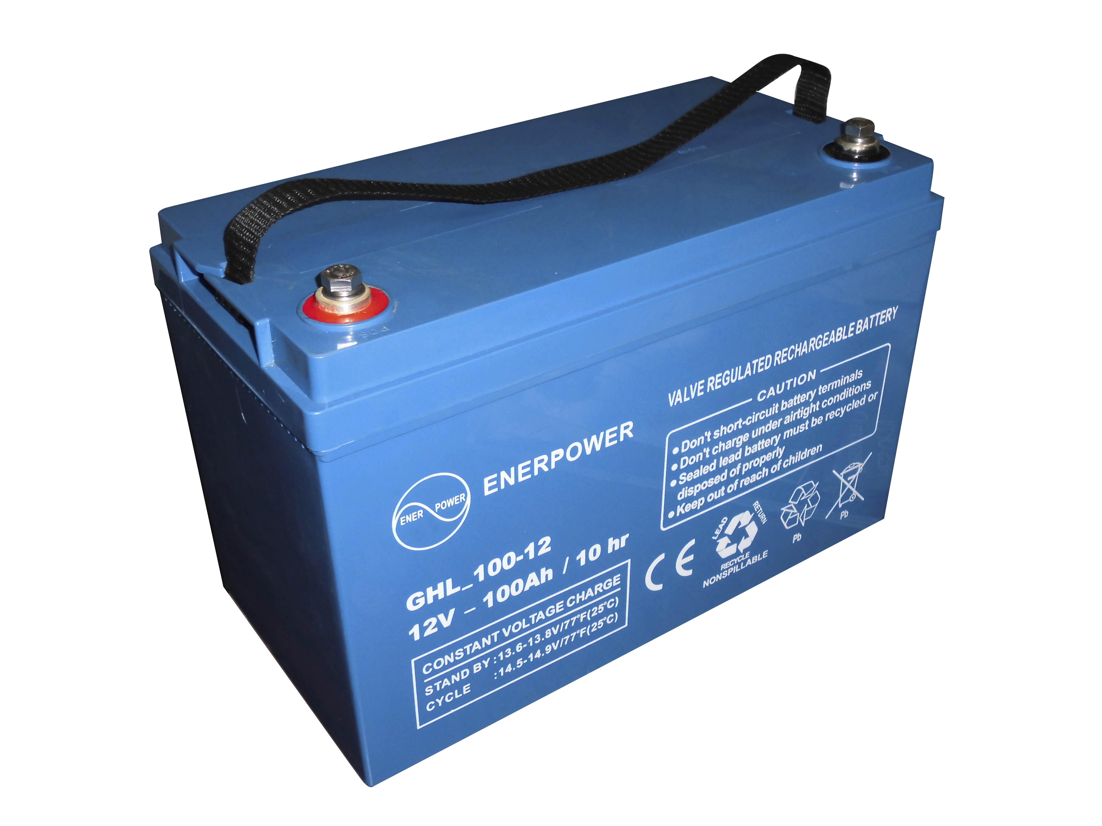 Batterie GEL serie GHL