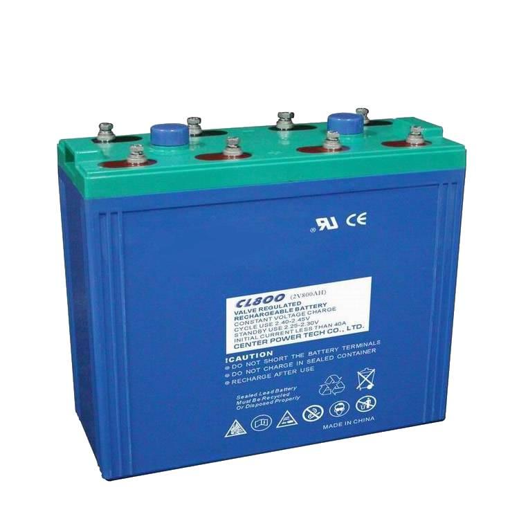 Batterie a piastre piane 2V AGM serie CL
