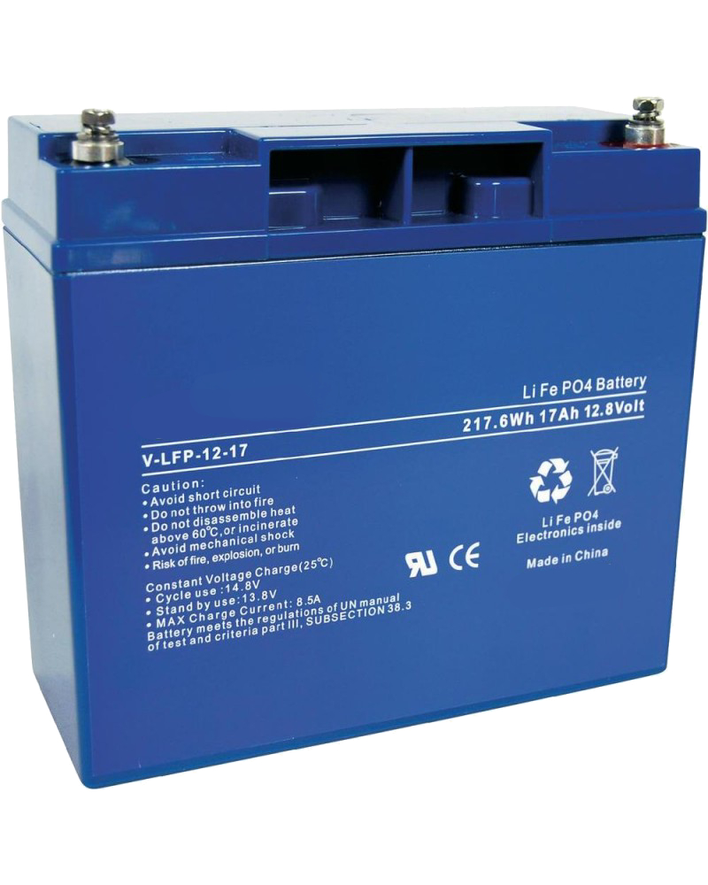 Batterie al litio LiFePO4 serie LFP Enerpower 12v 17ah