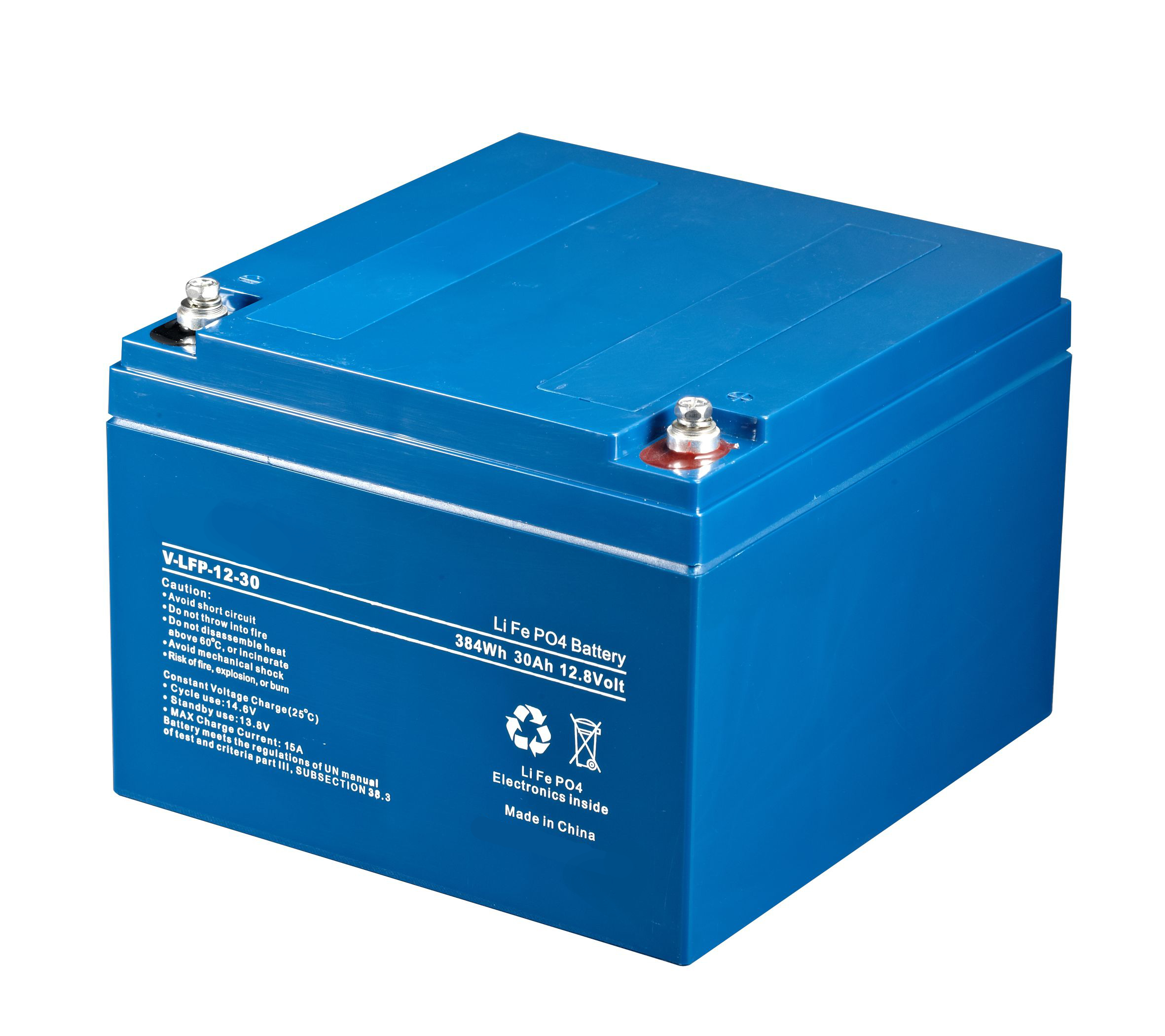 Batterie al litio LiFePO4 serie LFP Enerpower 12v 30ah