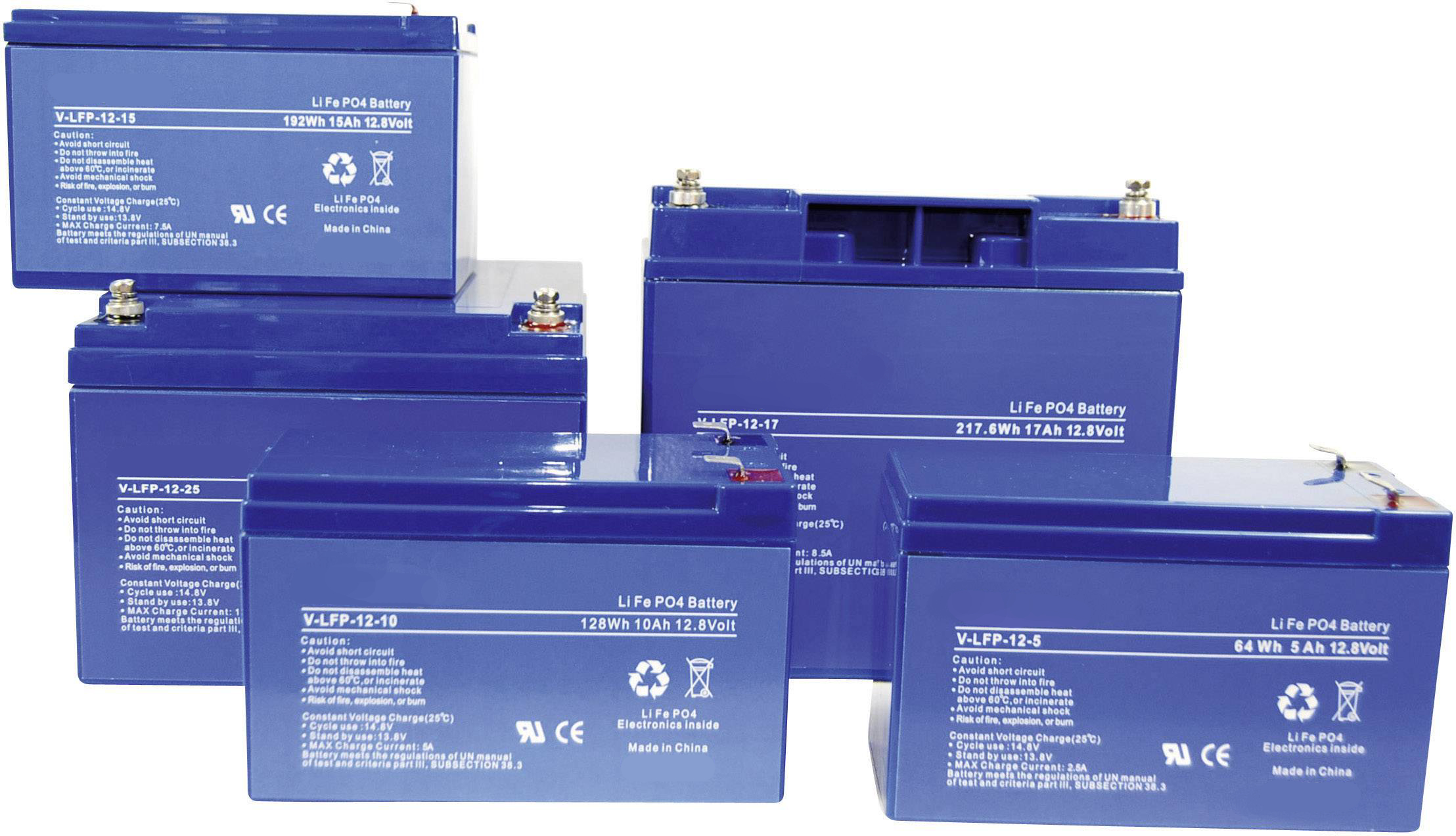 Batterie al litio LiFePO4 serie LFP Enerpower