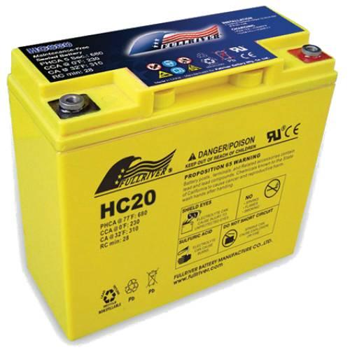 Batterie avviamento ad alto spunto serie HC Enerpower