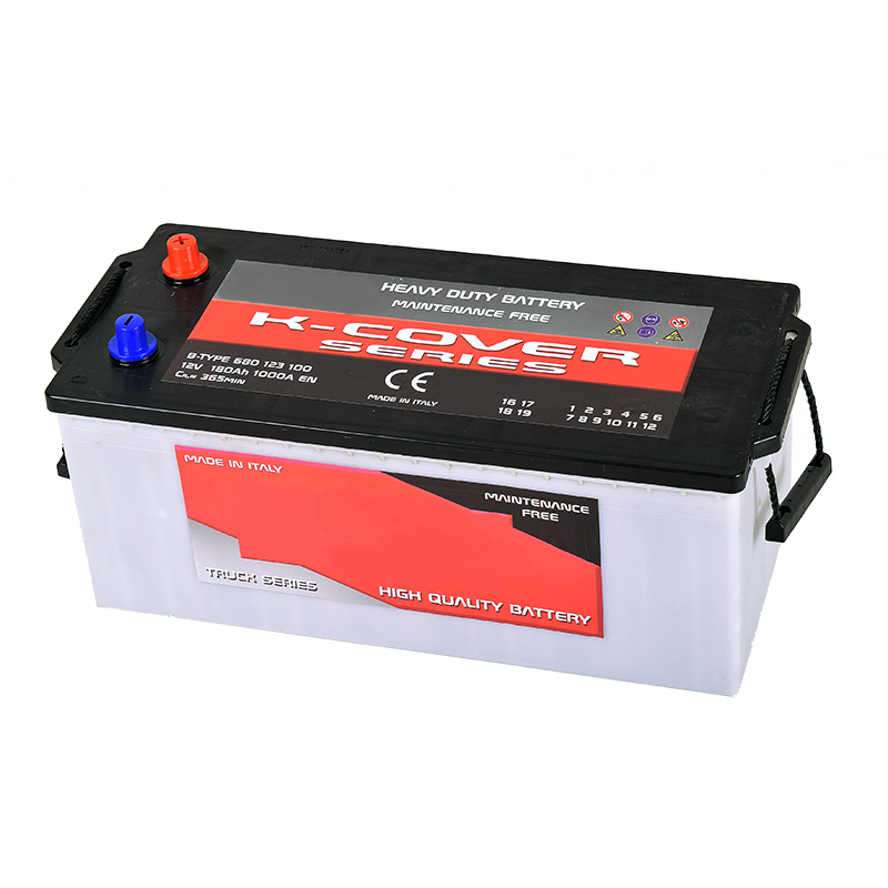 Batterie avviamento automotive serie AV Enerpower 12V 180Ah
