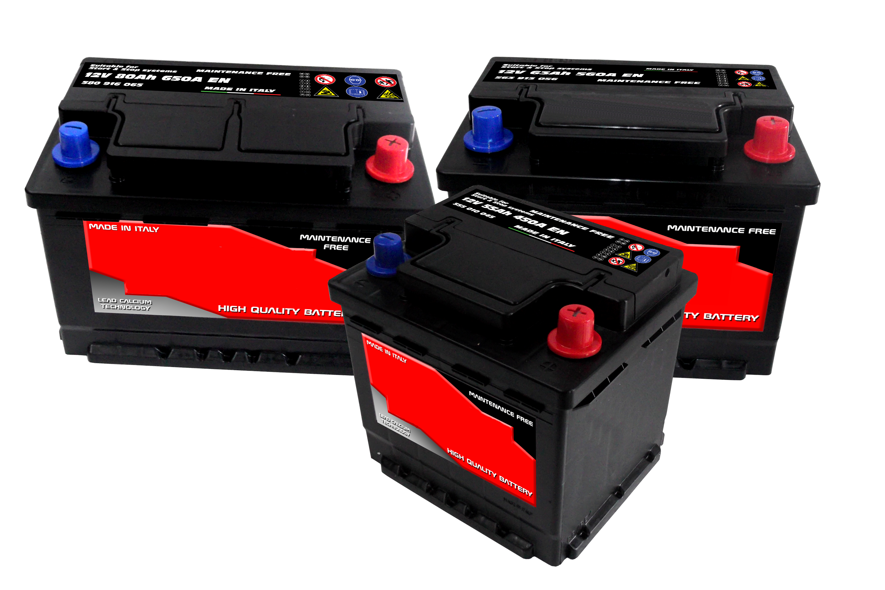 Batterie avviamento automotive serie AV Enerpower