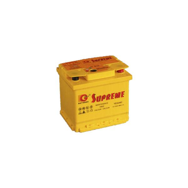 Batterie avviamento per gruppi elettrogeni serie YE Supreme