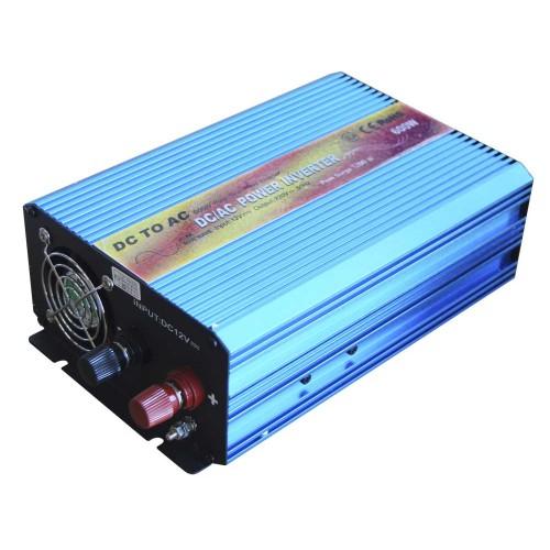 Inverter monofase DC-AC 12V 600W ad onda sinusoidale
